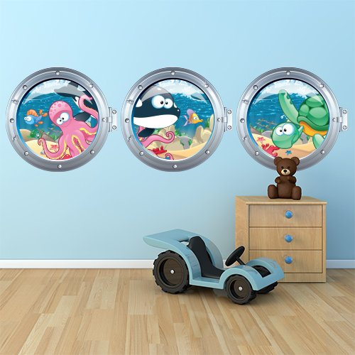 Adesivi murali per la cameretta dei bambini - Adesivi camera bimbi ...