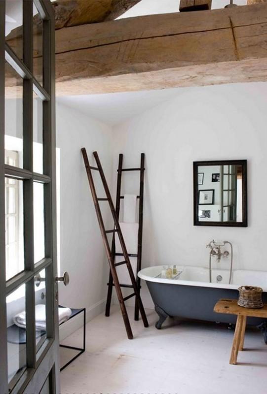 decorare una scala a pioli - Scala Arredo Bagno