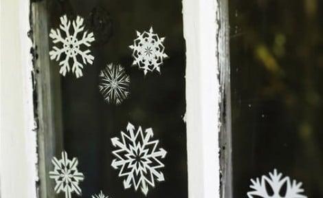 Decorare finestre natalizie - Adesivi natalizi per finestre ...